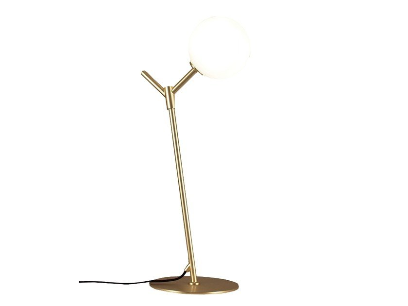 Metal table lamp with fixed arm ATOM | Table lamp by Aromas del Campo