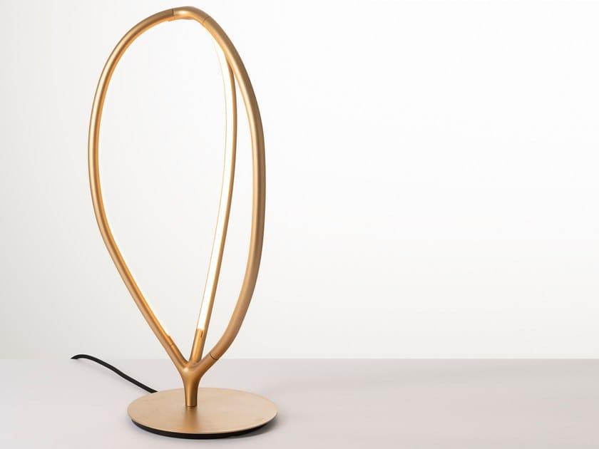 Lampada da tavolo in alluminio e silicone ARRIVAL | Lampada da tavolo by Artemide