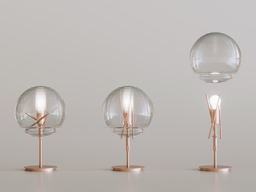 Glass table lamp VITRUVIO   Table lamp by Artemide