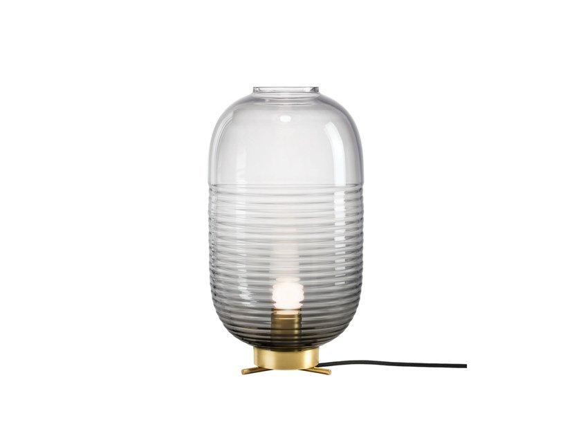 Blown glass table lamp LANTERN | Table lamp by BOMMA