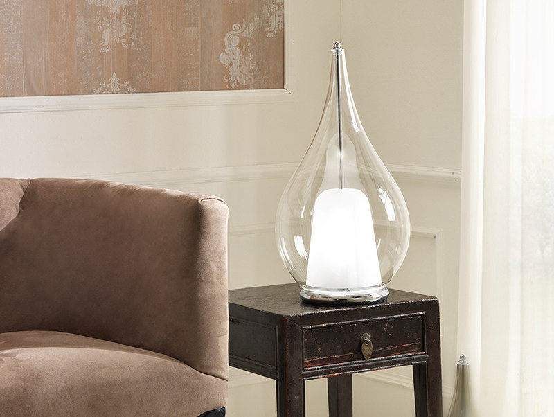 Direct light blown glass table lamp ZOE | Table lamp by Cangini & Tucci