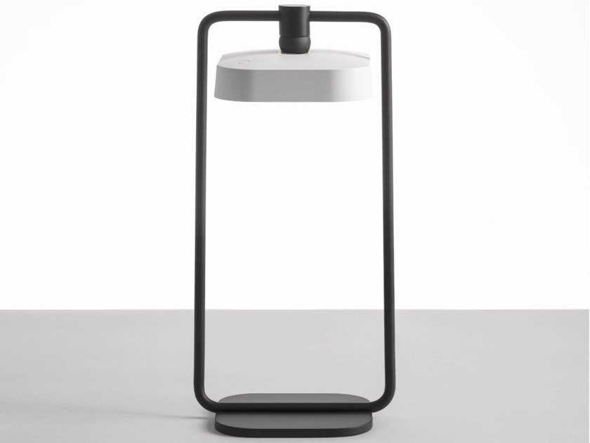 LED table lamp cordless FLAI LANTERN by DIOMEDE