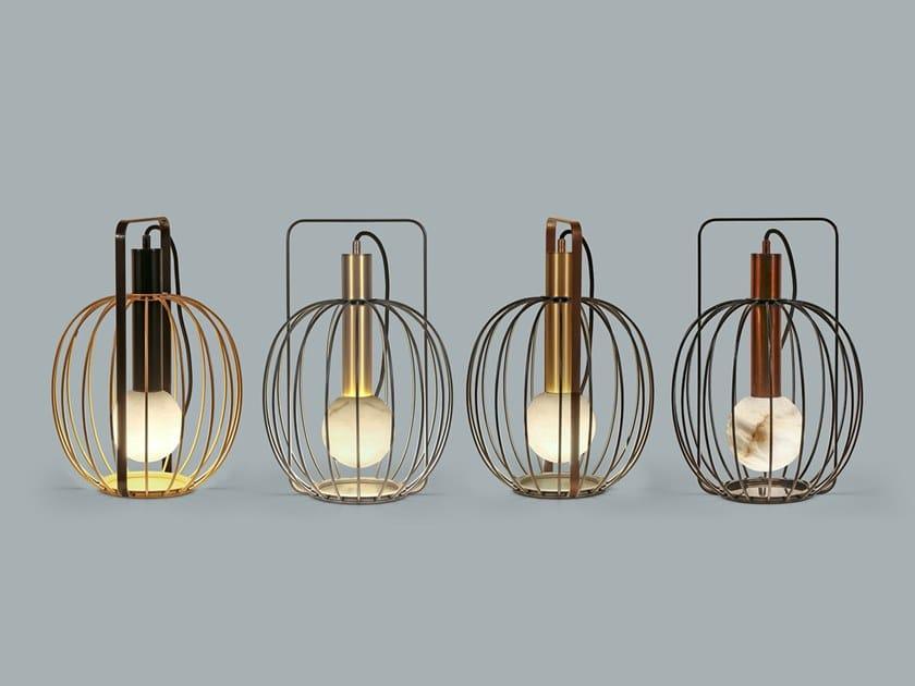 Lampada da tavolo a LED in metallo LIRA | Lampada da tavolo by Borzalino