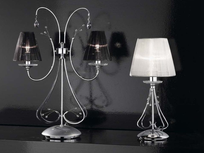 Table lamp with Swarovski® crystals EMMA | Table lamp by IDL EXPORT