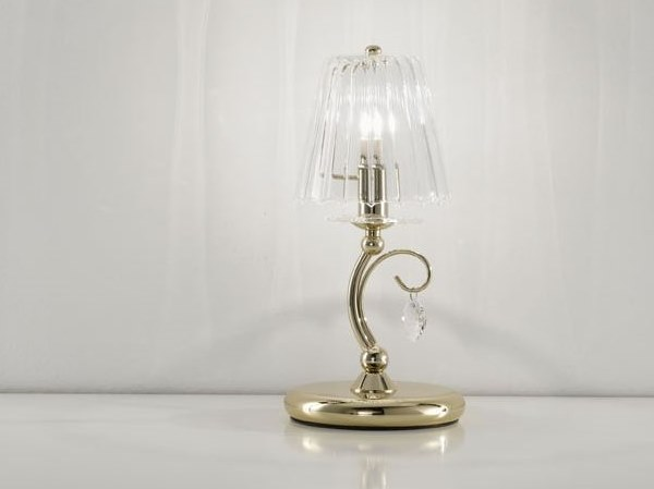 Table lamp with Swarovski® crystals MADEMOISELLE   Table lamp by IDL EXPORT