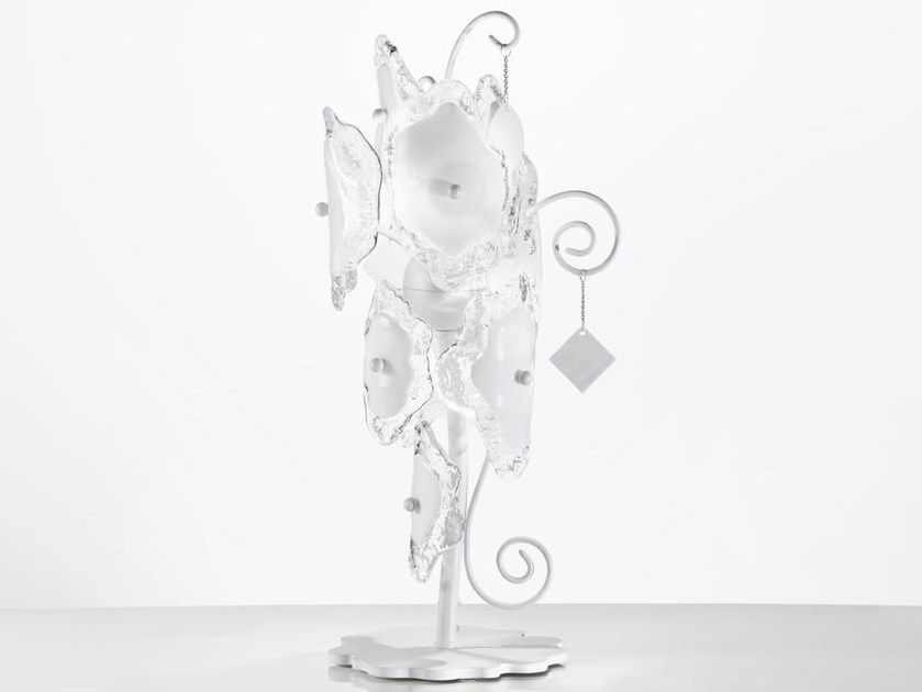 Indirect light Murano glass table lamp VITALIS | Table lamp by IDL EXPORT