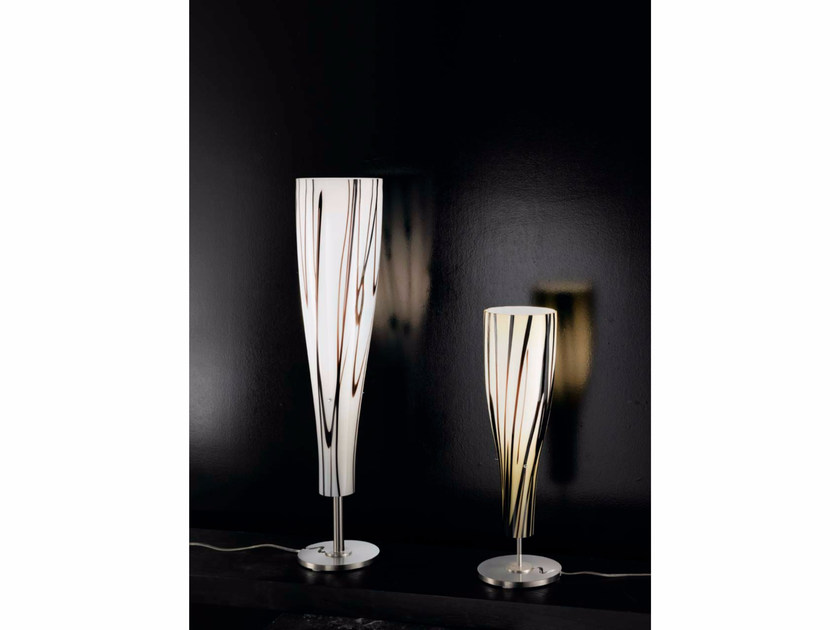 Indirect light Murano glass table lamp INKA | Table lamp by IDL EXPORT