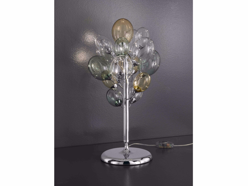 Direct light Pyrex® table lamp NUVOLA | Table lamp by IDL EXPORT