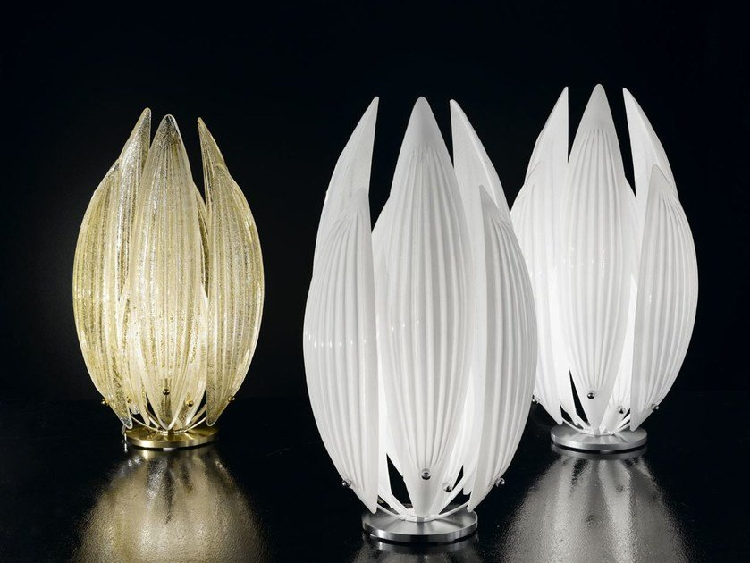 Murano glass table lamp PARADISE | Table lamp by IDL EXPORT