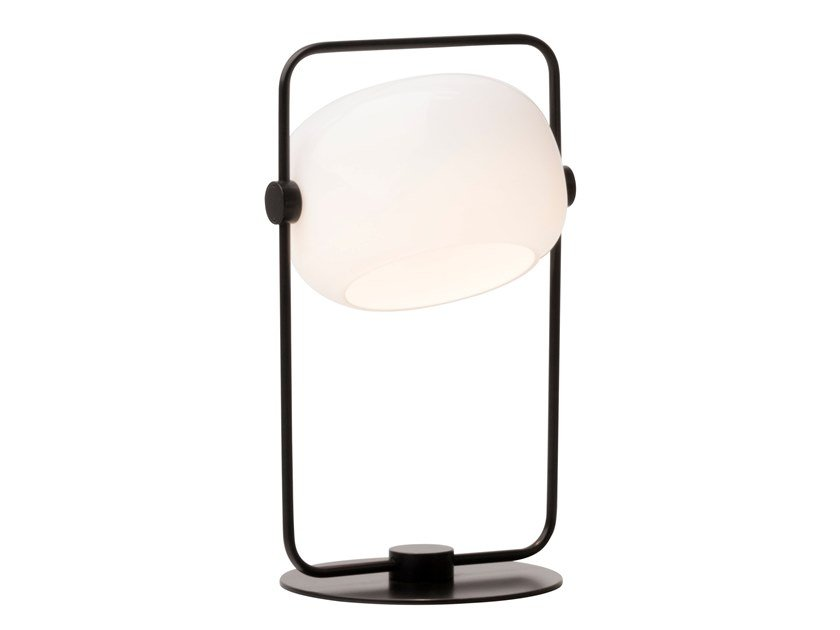 LED opal glass table lamp GALET | Table lamp by bs.living