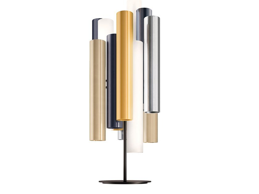 LED plexiglass table lamp TOOT | Table lamp by KUNDALINI