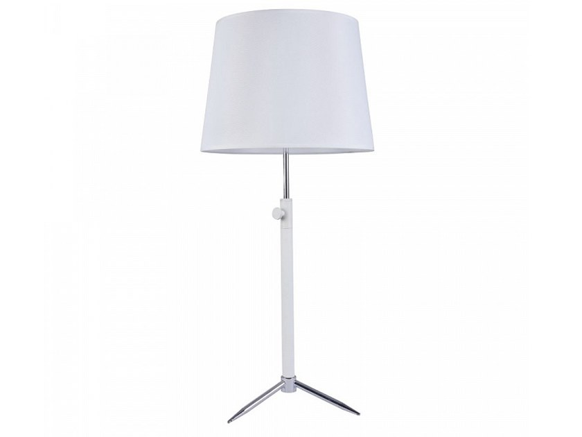 Height-adjustable fabric table lamp MONIC | Table lamp by MAYTONI