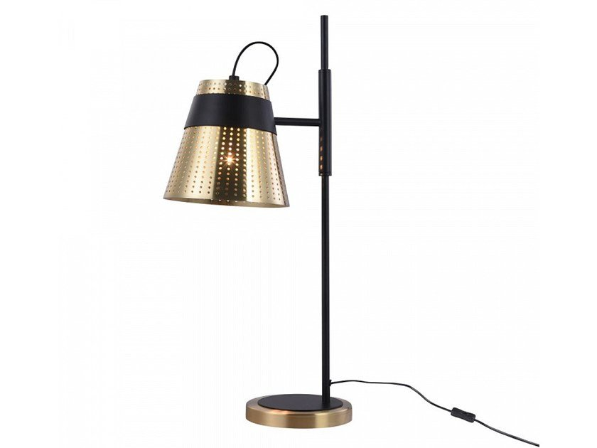 Metal table lamp with fixed arm TRENTO | Table lamp by MAYTONI