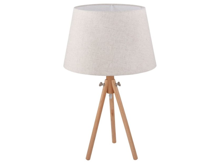 Height-adjustable wooden table lamp CALVIN | Table lamp by MAYTONI