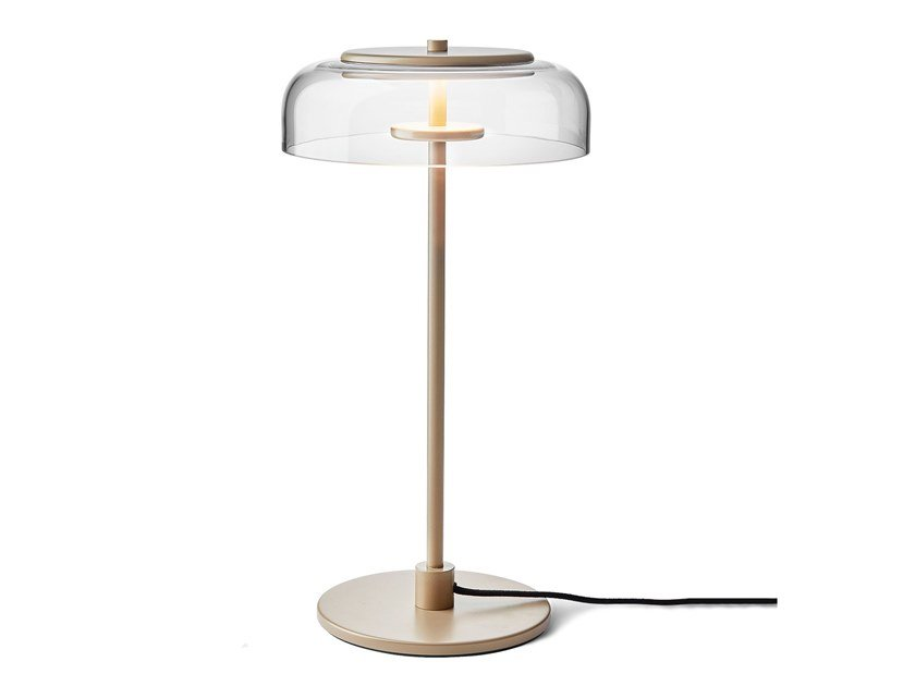 LED indirect light blown glass table lamp BLOSSI | Table lamp by Nuura