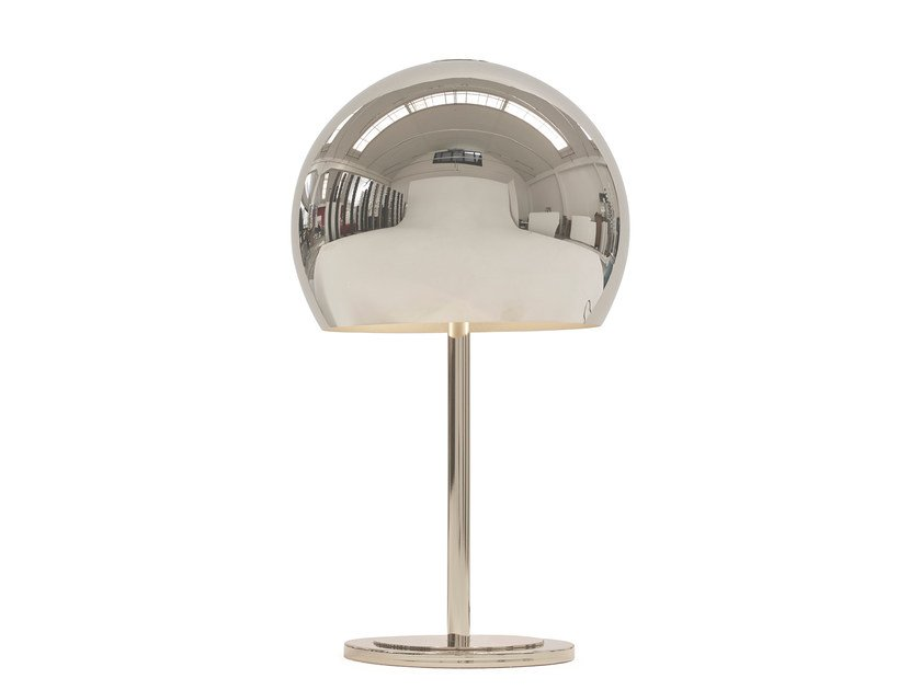 Direct light steel table lamp LALAMPADA MIRROR | Table lamp by Opinion Ciatti
