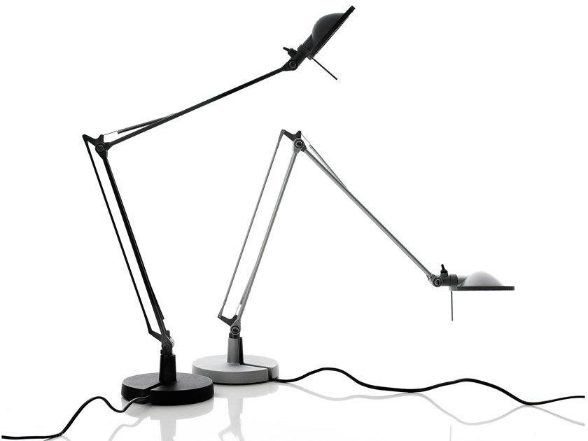 LED adjustable aluminium table lamp BERENICE | Table lamp by LUCEPLAN
