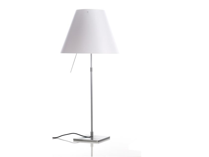 LED polycarbonate table lamp COSTANZA | Table lamp by LUCEPLAN