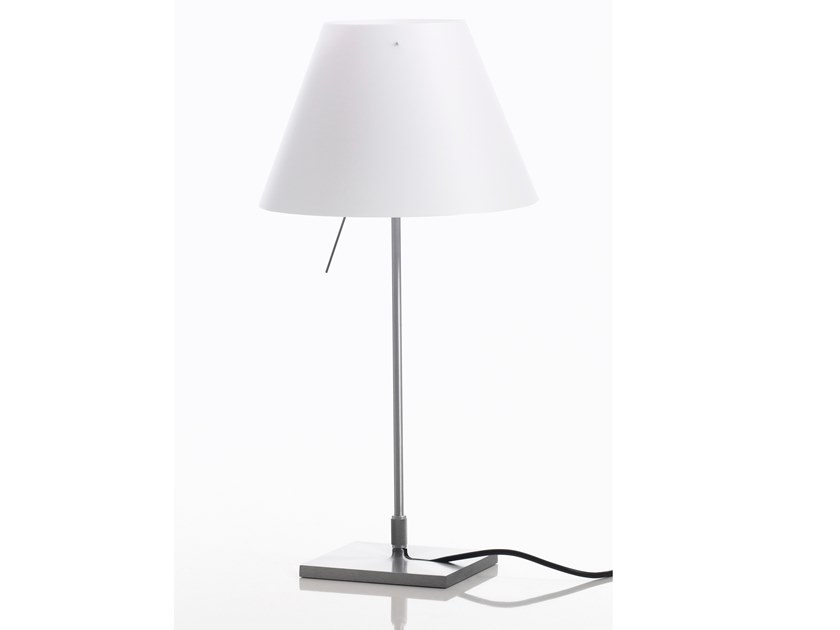 LED polycarbonate table lamp COSTANZINA | Table lamp by LUCEPLAN