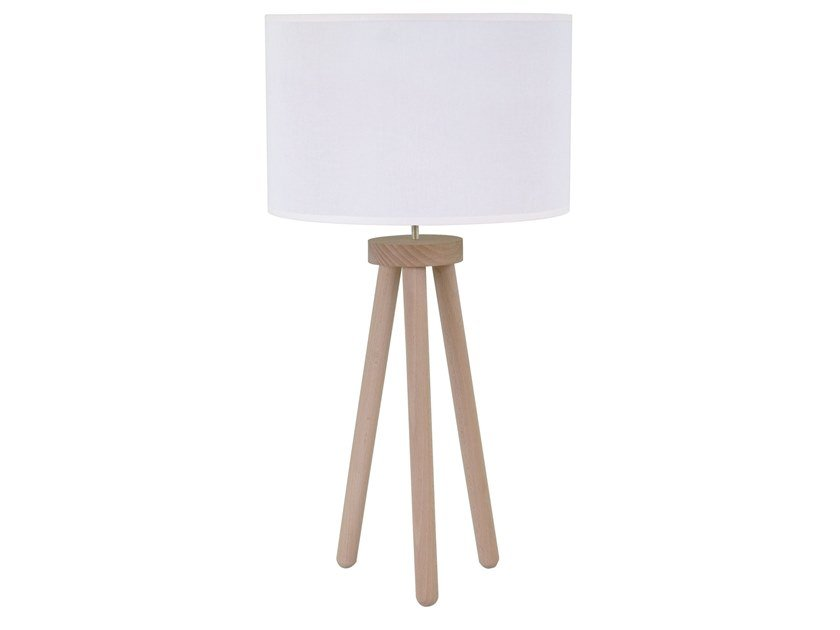Wooden table lamp GREENWOOD | Table lamp by LUZ EVA