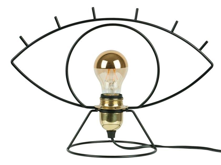 Metal table lamp CLIN D'ŒIL | Table lamp by LUZ EVA