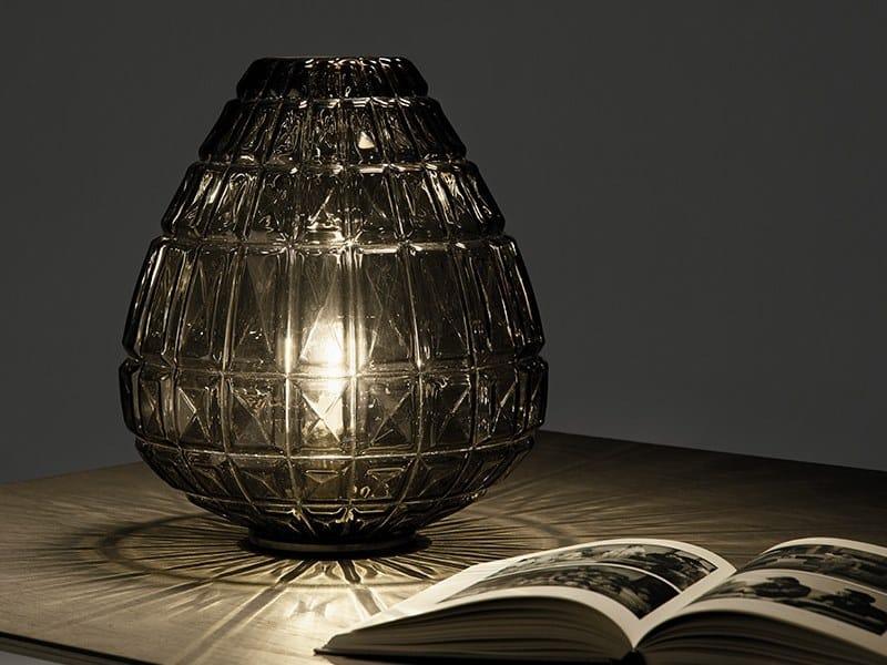 Blown glass table lamp REFLEX | Table lamp by Sforzin