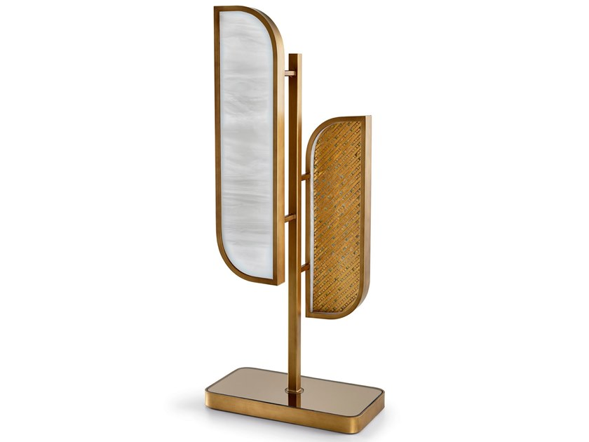 Brass table lamp VISCONTI | Table lamp by Sicis