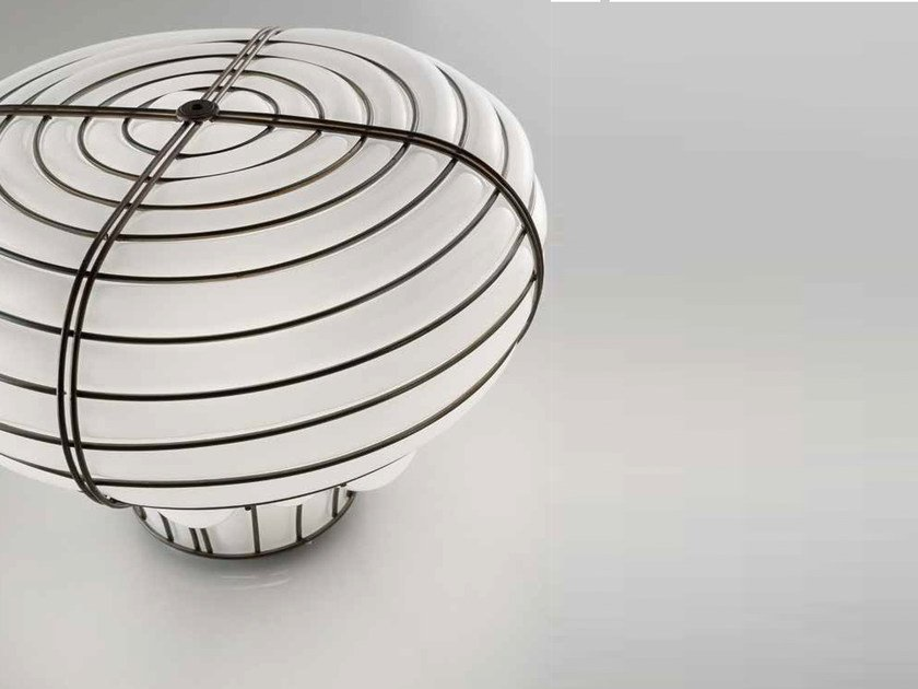 Murano glass table lamp CHAPEAU MT 433 by Siru