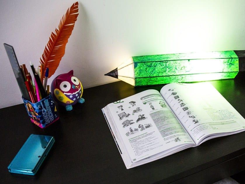 Lampada da tavolo a LED MATITA by SPAZIOMISTRAL
