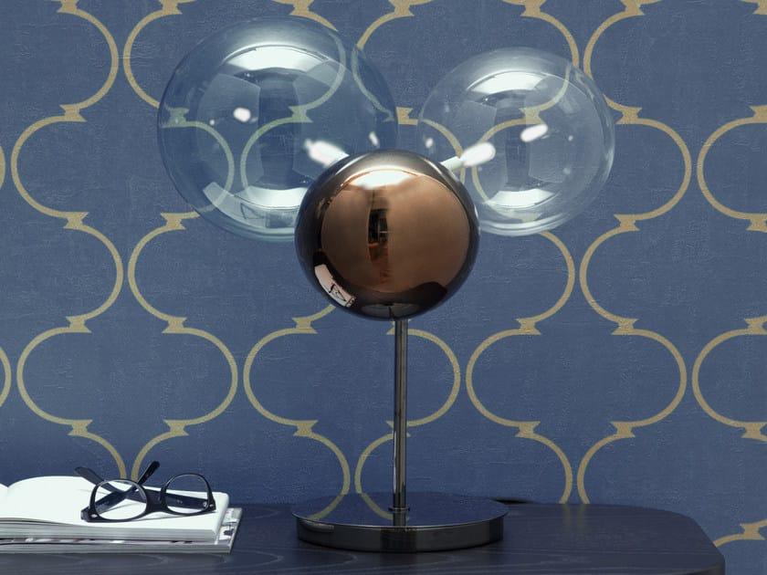 LED glass table lamp ATOMO   Table lamp by Tonin Casa