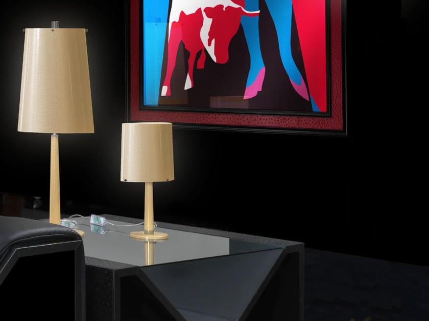 Lampada da tavolo in Kevlar® CONIC | Lampada da tavolo by Tonino Lamborghini Casa