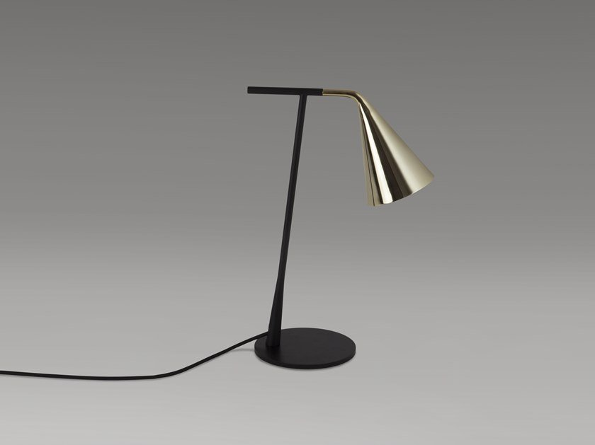 Metal table lamp with dimmer GORDON | Table lamp by Tooy