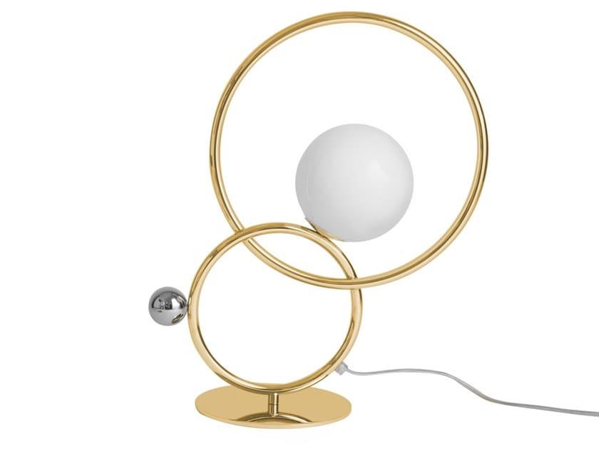 Lampada da tavolo a LED in ottone con dimmer ZOE | Lampada da tavolo by VeniceM