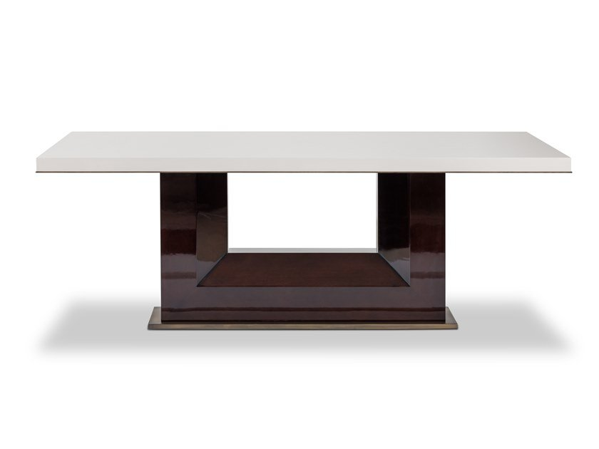 Lacquered rectangular wooden dining table FORTUNE | Table by Stylish Club