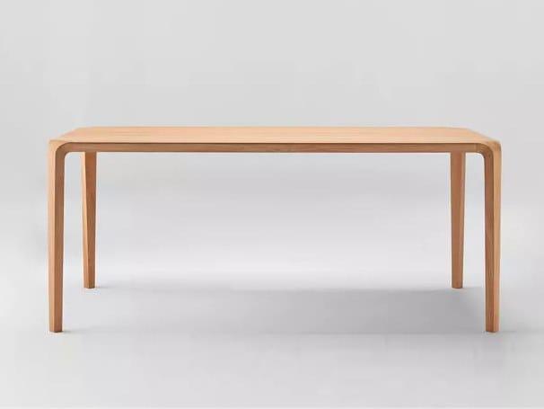 Rectangular wooden dining table SILU   Table by ONDARRETA