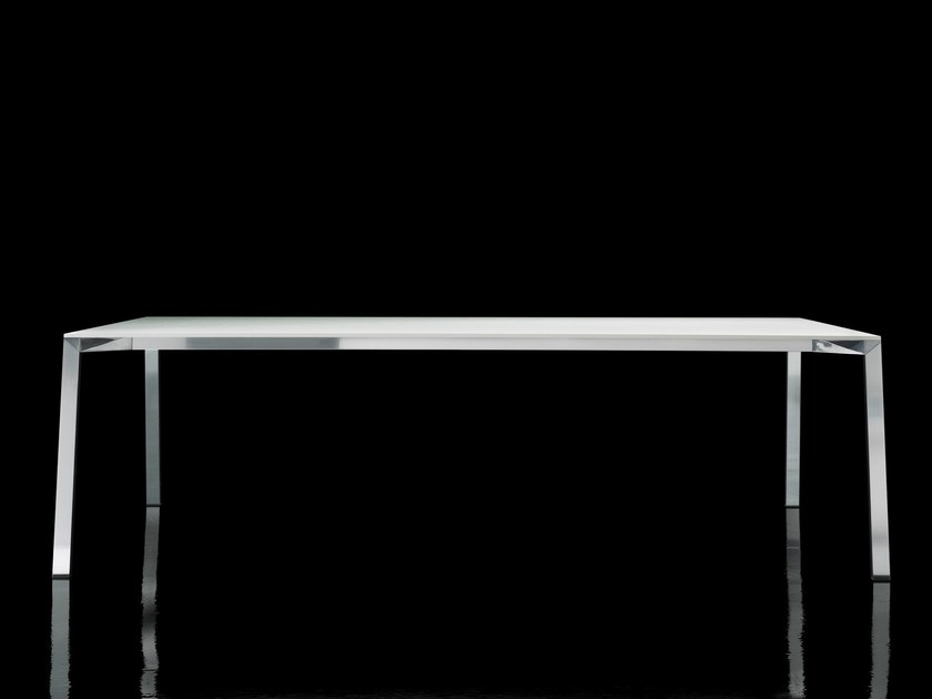 Rectangular HPL table TABLE_ONE by Magis