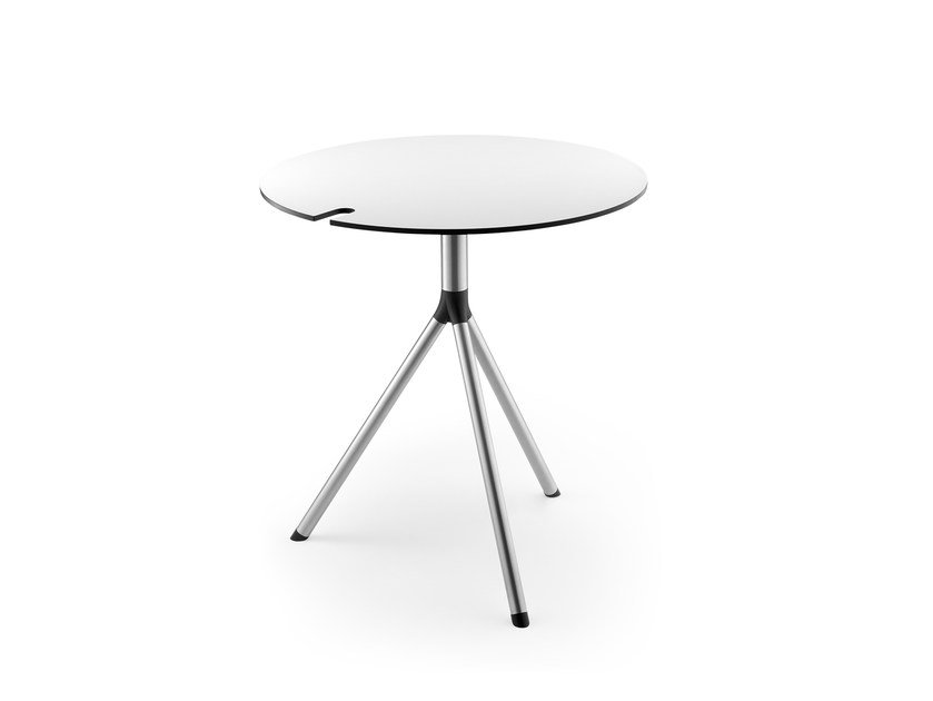 Drop-leaf round table MOLLINARO | Table by rosconi
