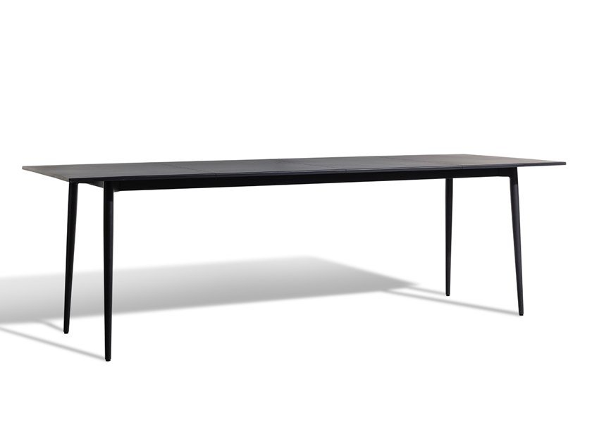 Rectangular aluminium dining table SALTÖ | Table by Skargaarden