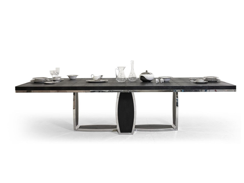 Tavolo da salotto rettangolare in pelle TL SAINT TROPEZ | Tavolo by Tonino Lamborghini Casa