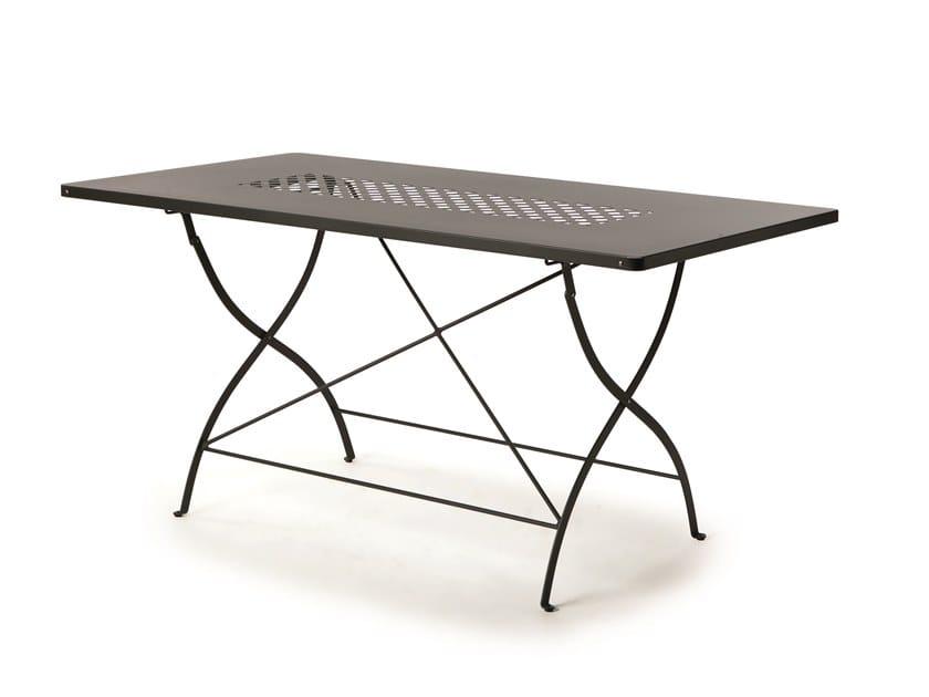 Folding metal garden table SPRINGTIME | Table by Vermobil