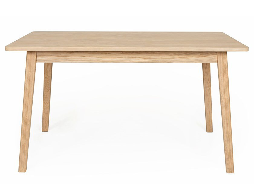 Rectangular wood veneer table SKAGEN | Table by Woodman