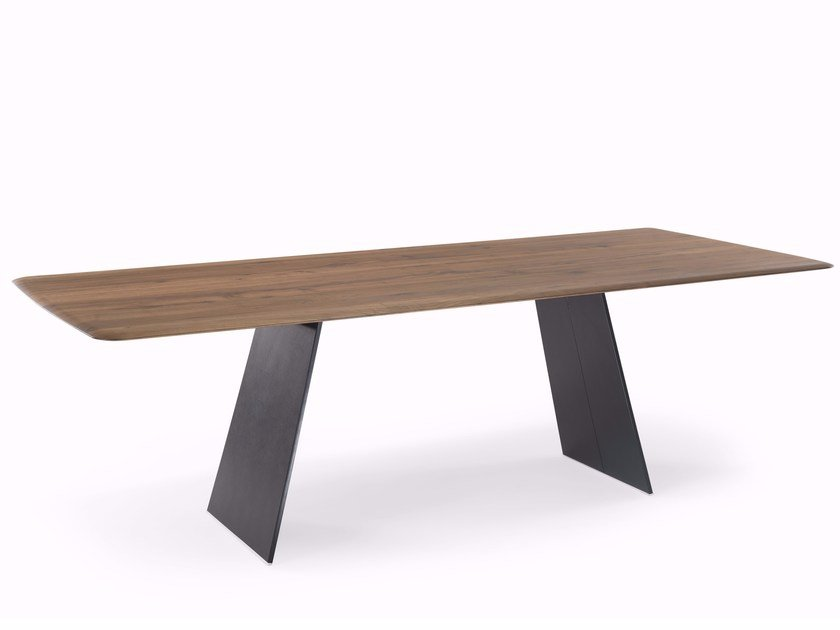 Contemporary style rectangular wooden table S100 | Table by YOMEI