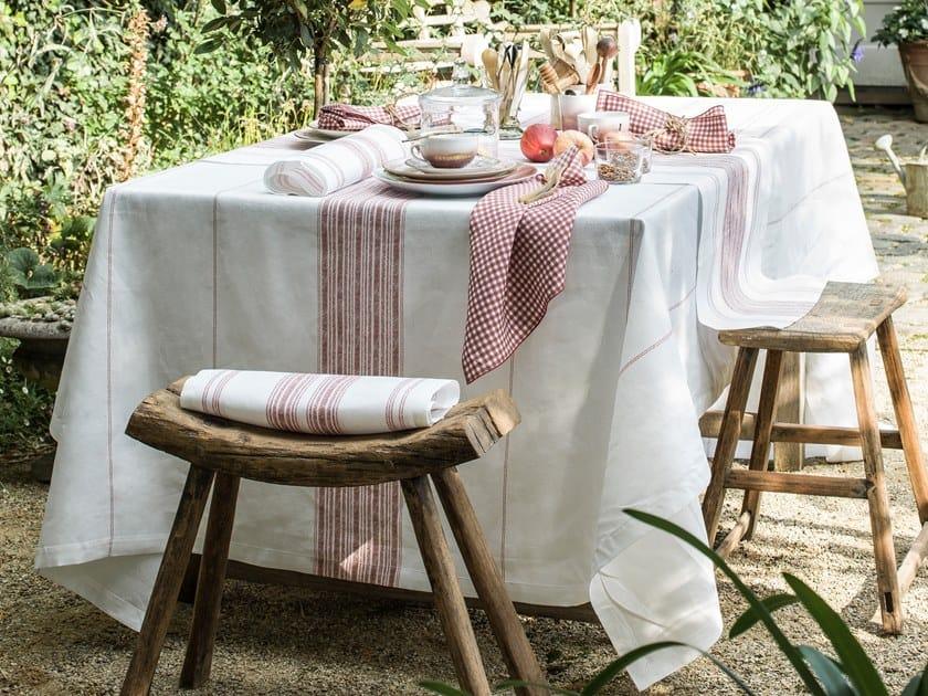 Linen tablecloth AMALFI | Tablecloth by Alexandre Turpault
