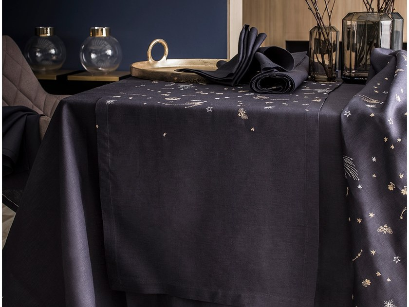 Linen tablecloth ASTROLAB | Tablecloth by Alexandre Turpault