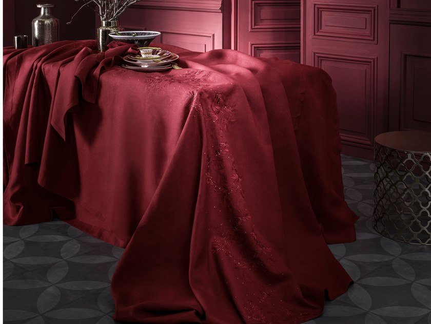 Linen tablecloth SAISONS | Tablecloth by Alexandre Turpault