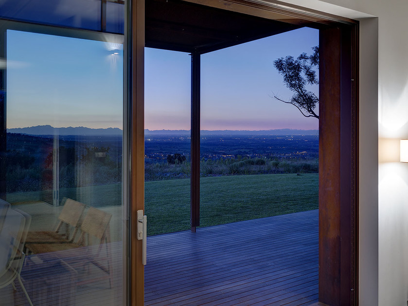 Corten™ lift and slide window TABS®   Lift and slide window by PALLADIO