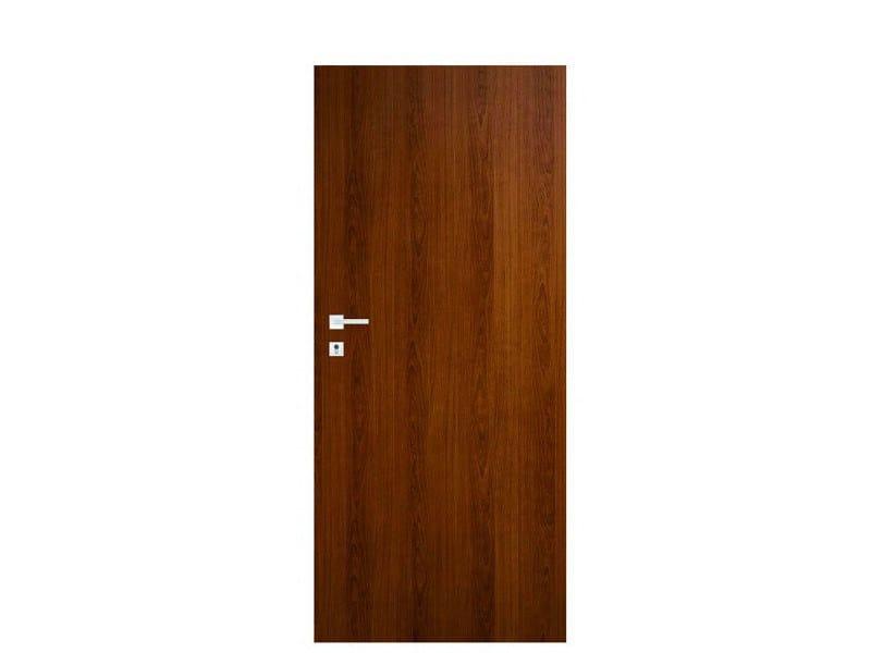 Door panel for indoor use TABULA LAMINATINO OLD CHERRY by Metalnova