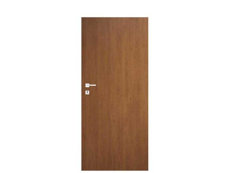 Door panel for indoor use TABULA LAMINATINO NATURAL CHERRY by Metalnova