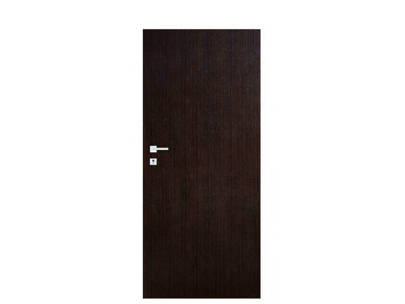 Door panel for indoor use TABULA LAMINATINO WENGE by Metalnova
