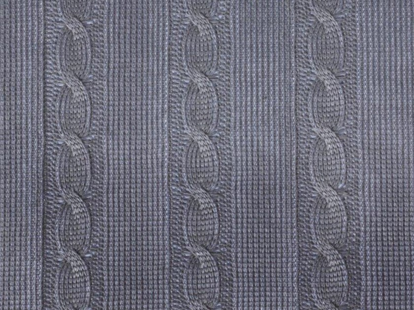 Solid-color Trevira® CS upholstery fabric TABURIENTE STONE by Gancedo